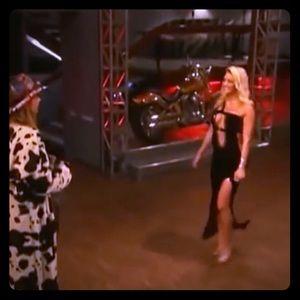 Black velvet dress worn on Rock of Love 1